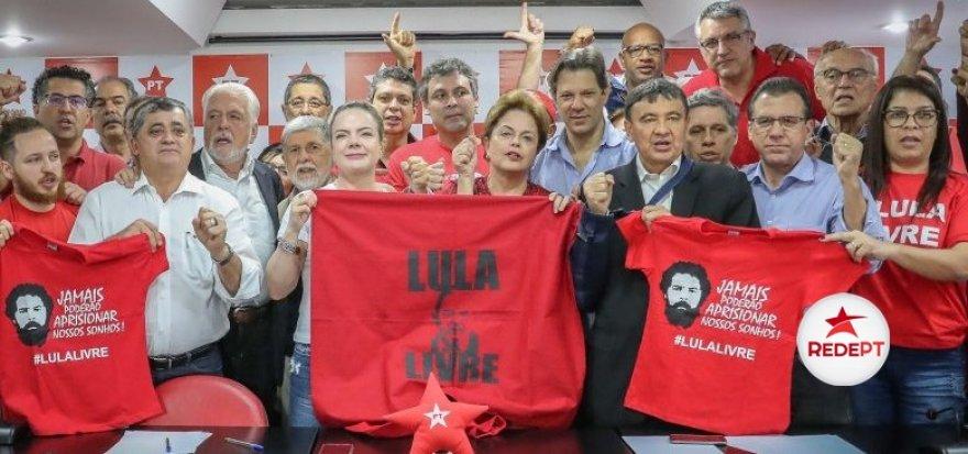 Gleisi: Nós não vamos aceitar mais violência contra Lula