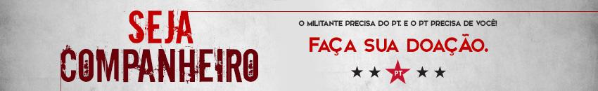 Seja Companheiro, faça sua doação ao PT de Ribeirão Preto