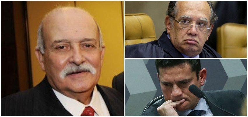 Ministro Gilmar Mendes x Juiz Sérgio Moro