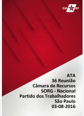 Ata da 36ª Reunião da Câmara de Recursos- Ribeirão Preto