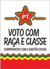 Caderno - Voto com Raça e Classe -  compromisso com a questao social - 2008