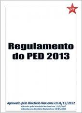 Regulamento PED - 2013 - atualizado