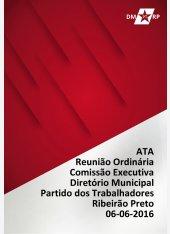 Ata Reunião Ordinária CEMPT - 06-06-2016