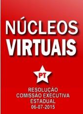 Resolução Diretório Estadual - Núcleos Virtuais - 06-07-2015
