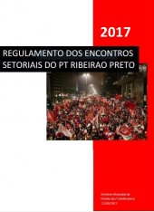 Regulamento Encontros Setoriais - Ribeirão Preto - 2017