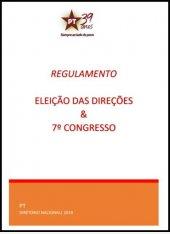 Regulamento 7º Congresso do PT | Eleições Diretórios - 2019