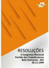 Resoluções do II Congresso Nacional do Partido dos Trabalhadores