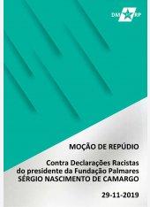 Moção de Repúdio contra Sérgio Nascimento de Camargo