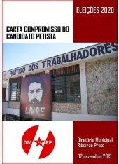 Carta Compromisso do Candidato Petista | Prefeito 2020