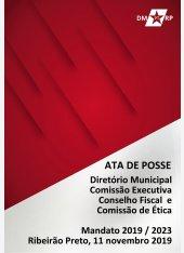 Ata de Posso Novo Diretório | Mandato 2019 - 2023