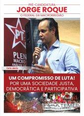 Carta Aberta: Pré-Campanha Deputado Federal Jorge Roque