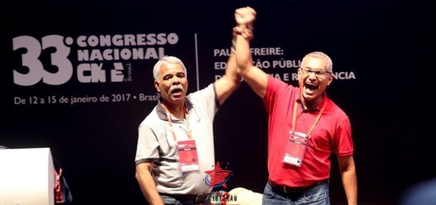 Novo presidente da CNTE assume compromisso com as causas dos trabalhadores