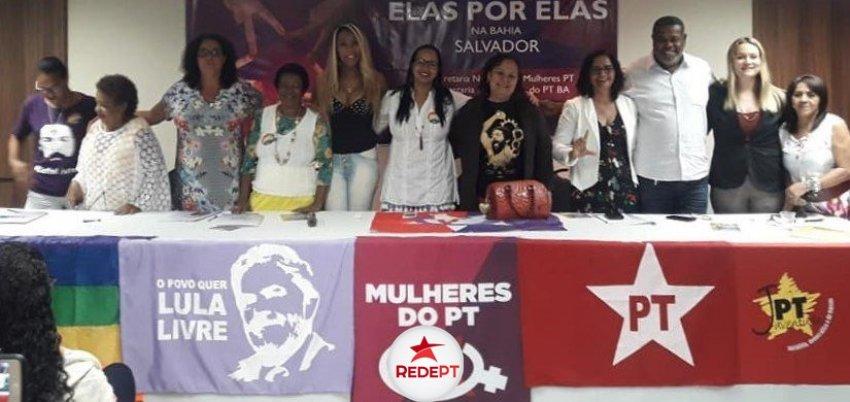 Mulheres petistas debatem representação política em Salvador-BA