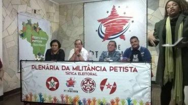 Plenária da Militância Petista - Tática Eleitoral