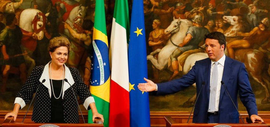 Em Roma, Dilma apresenta plano de concessões e faz convite para investimentos no Brasil