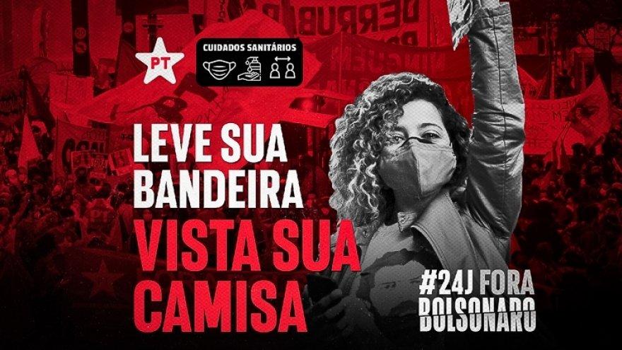 Ribeirão Preto: avança a mobilização pelo ato #24JForaBolsonaro