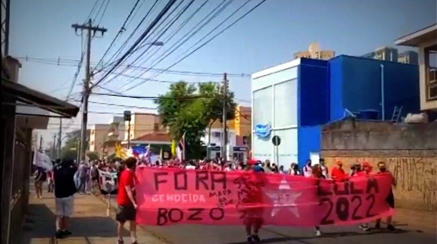 300 mil pessoas participam de atos #ForaBolsonaro em 200 cidades