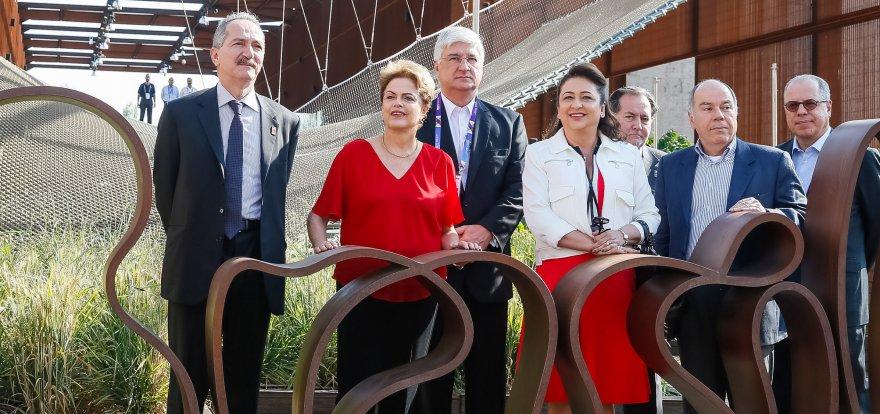 Na Itália, Dilma Rousseff visita Expo Milão 2015