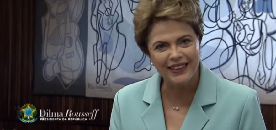 Em mensagem à Nação, Dilma reafirma que as dificuldades são superáveis