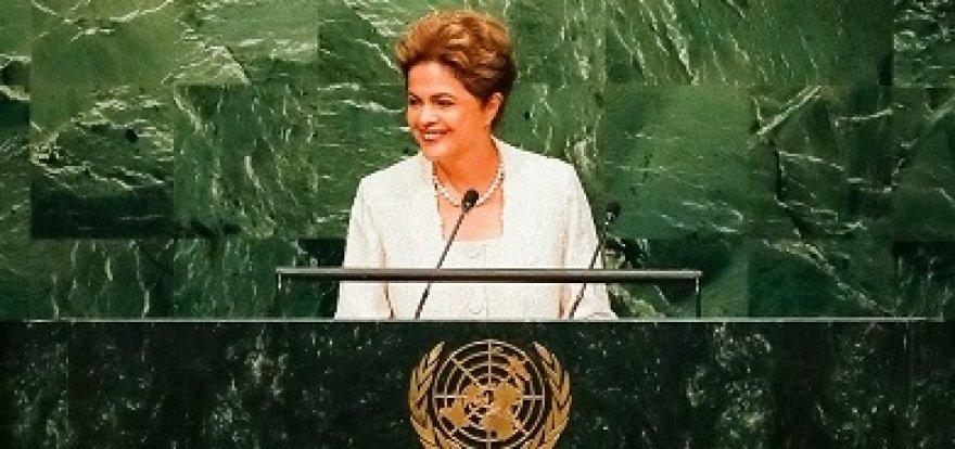 'Construir o mundo que queremos exigirá coragem e determinação de todos', afirma Dilma em artigo