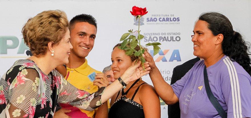 Meu governo lutará para que todos tenham uma vida melhor, afirma Dilma