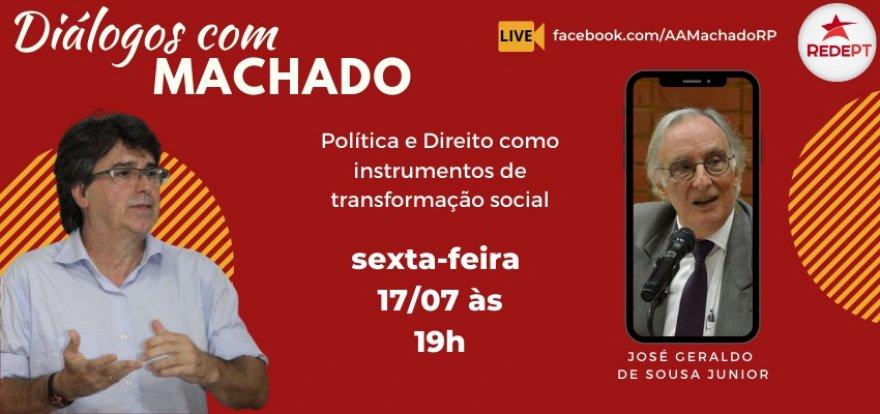 Políticas e Direitos como Instrumentos de Transformação Social será tema no Diálogos com Machado desta sexta-feira