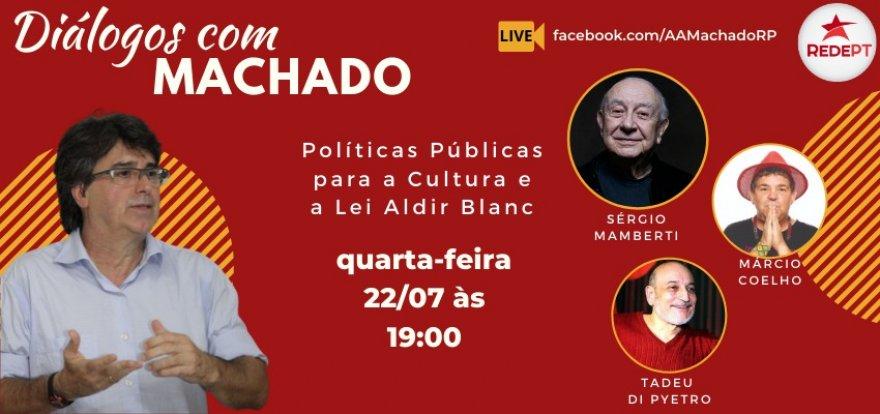 Políticas Públicas para a Cultura e a Lei Aldir Blanc no Diálogos com Machado