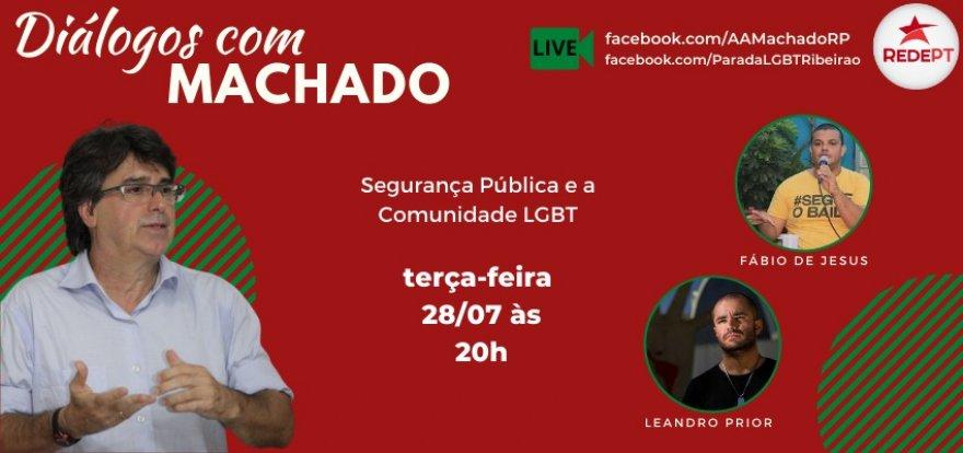 Segurança Pública e a Comunidade LGBTQI+ no Diálogos com Machado
