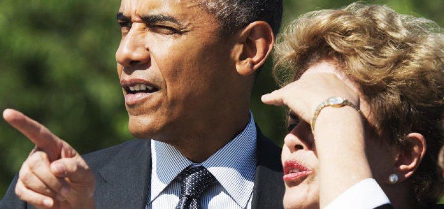 Dilma e Obama visitam memorial a Martin Luther King