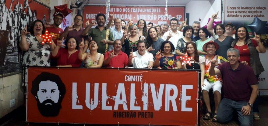 39 anos do PT em Ribeirão Preto teve música e esperança