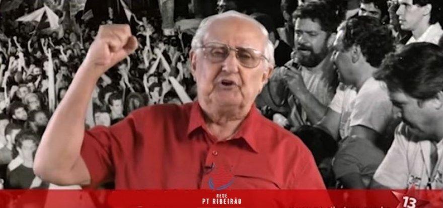 David Aidar, 2º presidente participa da História Oral do PT de Ribeirão Preto