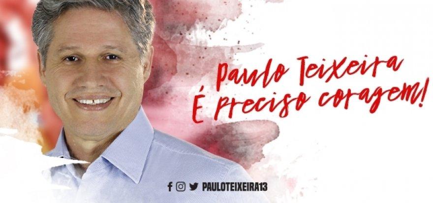 Paulo Teixeira em Ribeirão Preto