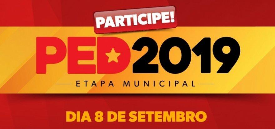 PT divulga as chapas do PED 2019 Ribeirão Preto