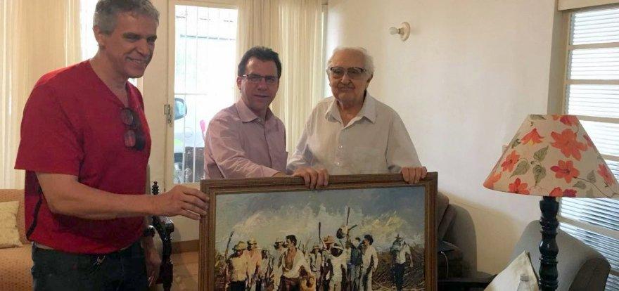 Luiz Marinho visita David Aidar em Ribeirão Preto