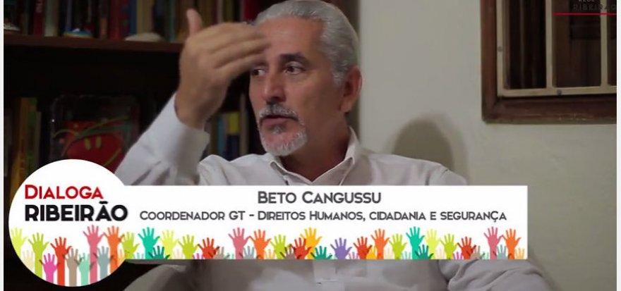 Município deve criar seu sistema de defesa dos direitos humanos, diz Beto Cangussu