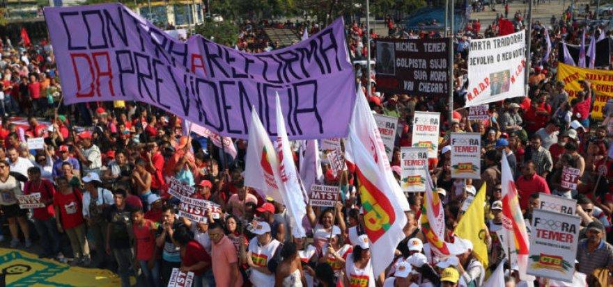 Em São Paulo, 60 mil vão às ruas gritar Fora Temer