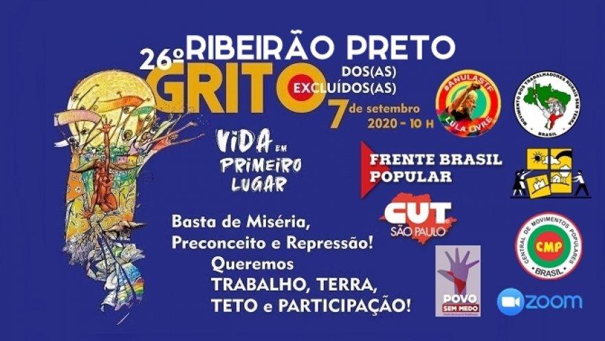 Grito dos Excluídos e das Excluídas em Ribeirão Preto terá ações de solidariedade e transmissão ao vivo