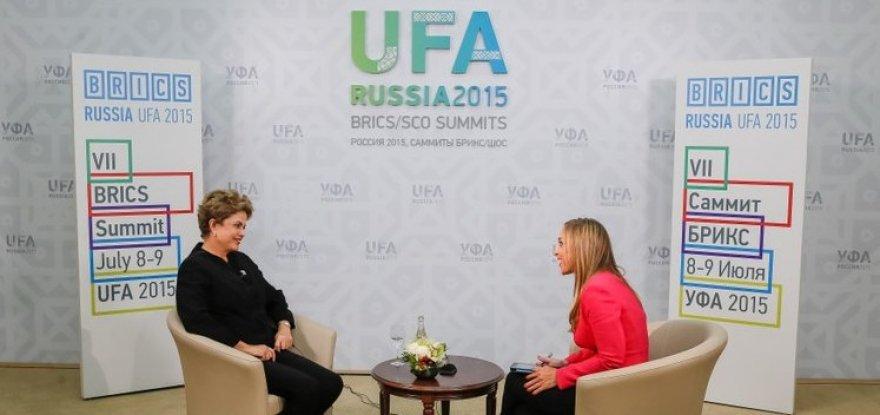 Presidenta Dilma é super-heroína, declara jornalista de TV russa