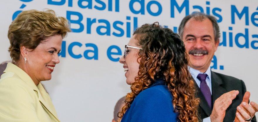 Dilma manifesta solidariedade à aluna atacada nas redes sociais