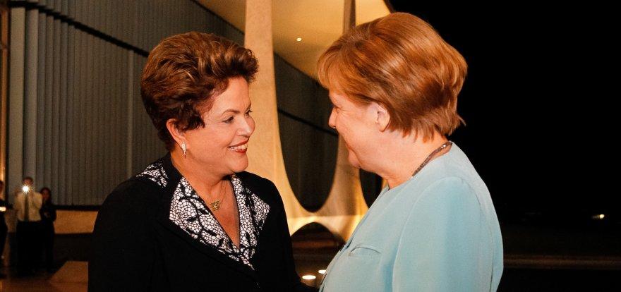 Brasil e Alemanha querem acordos de cooperação em diversas áreas