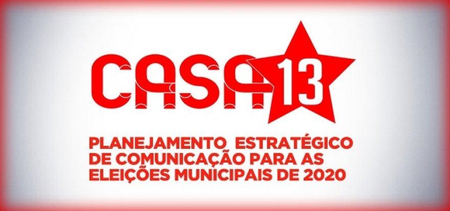 PT lança 'Casa 13', plataforma de apoio às pré-candidaturas municipais