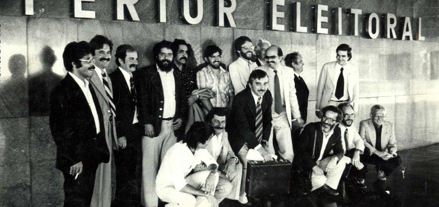 Há 38 anos, PT conquistava seu registro provisório