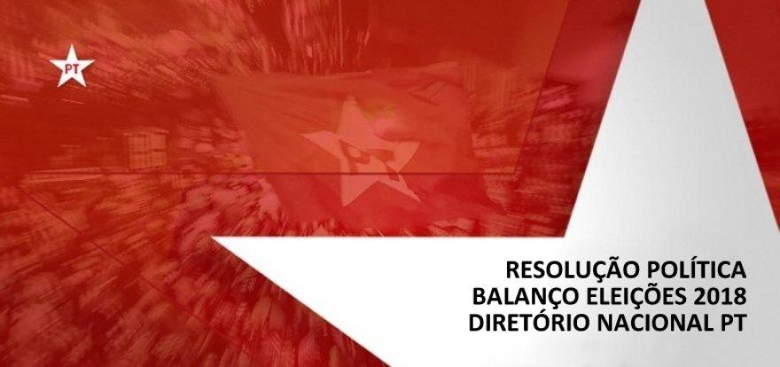 Conheça a Resolução Política do PT sobre o Balanço Eleitoral