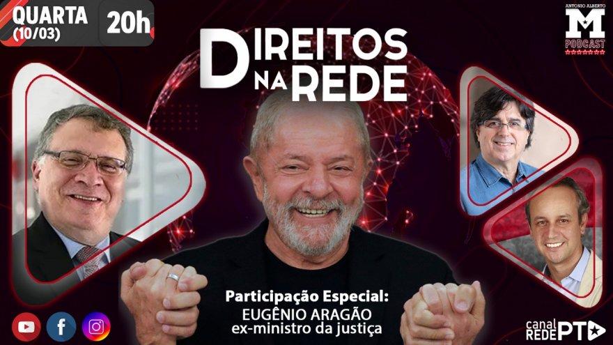 #AoVivo #AnulaSTF | Lula Inocente é o tema do programa Direitos na Rede desta quarta-feira