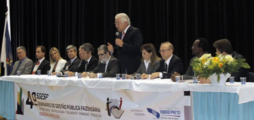 Ministro participa de seminário de gestão pública em Ribeirão Preto